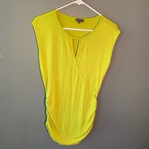 Vince Camuto Sleeveless Blouse Lime Green